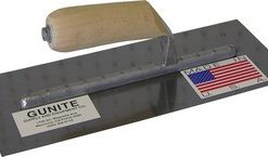 "GUNITE TROWEL, 5"" x 12"" EXPOSED RIVETS"