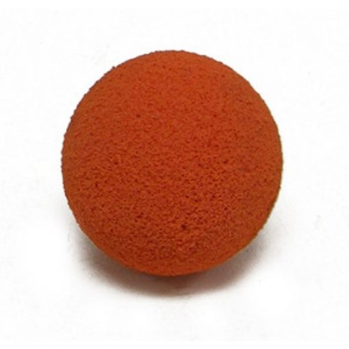 CLEAN-OUT BALL, HARD SPONGE 2-1/2""