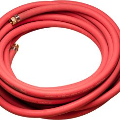 "1"" RED GROUT HOSE, 25' LENGTH FNPT END"